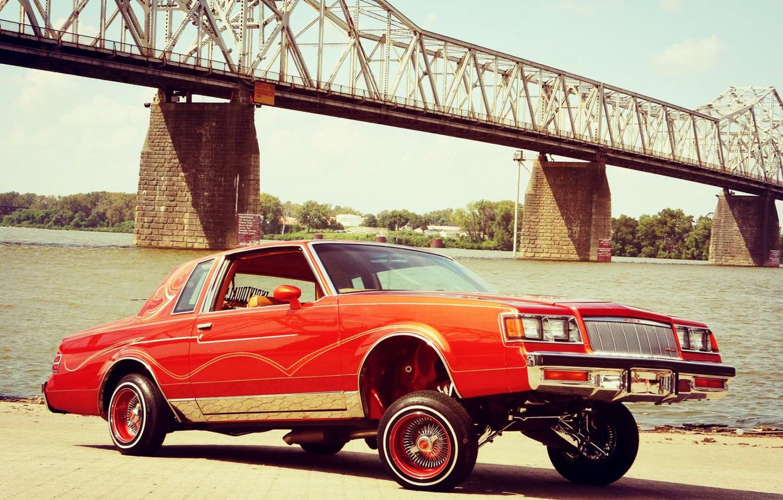 Photo wallpaper Tuning, Lowrider, Custom, Buick, Vehicle, Buick Regal, Regal