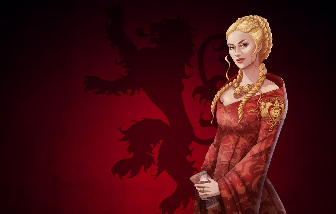Wallpaper Girl Blonde Art Queen Game Of Thrones Game Of