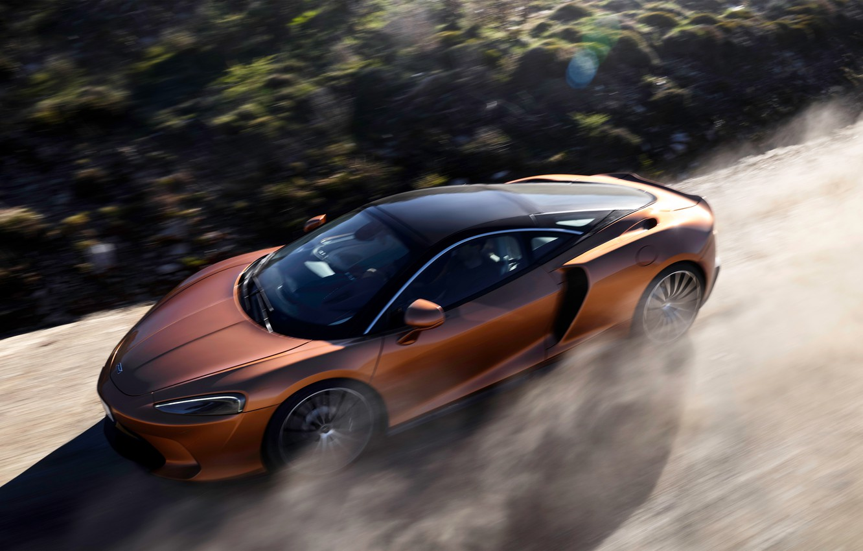 Photo wallpaper McLaren, speed, supercar, 2019, McLaren GT