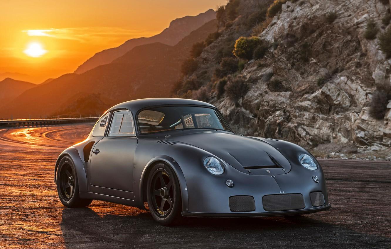 Photo wallpaper Porsche, Hot Rod, Coupe, Tuning, Custom, Vehicle, Porsche 356 RSR By Emory Motorsports, Porsche 356 …