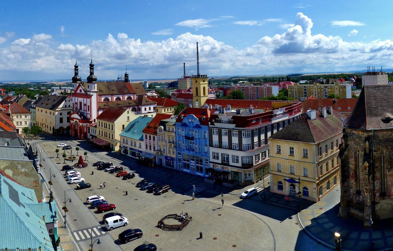 Photo wallpaper Czech Republic, area, Chmutov