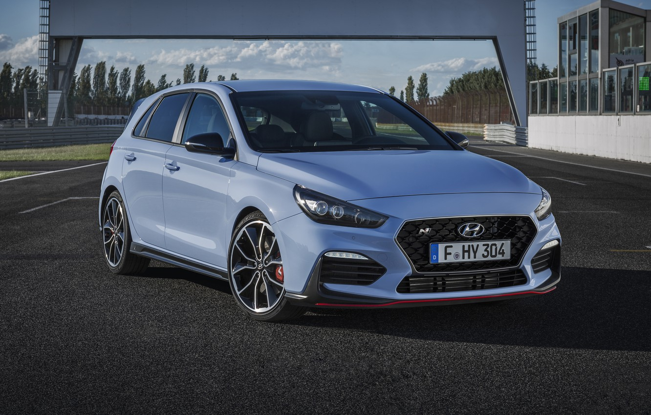 Photo wallpaper Hyundai, Hyundai i30 N, i30 N