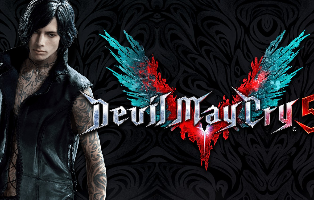 Wallpaper The Game Guy Tattoo Devil May Cry 5 Character Devil