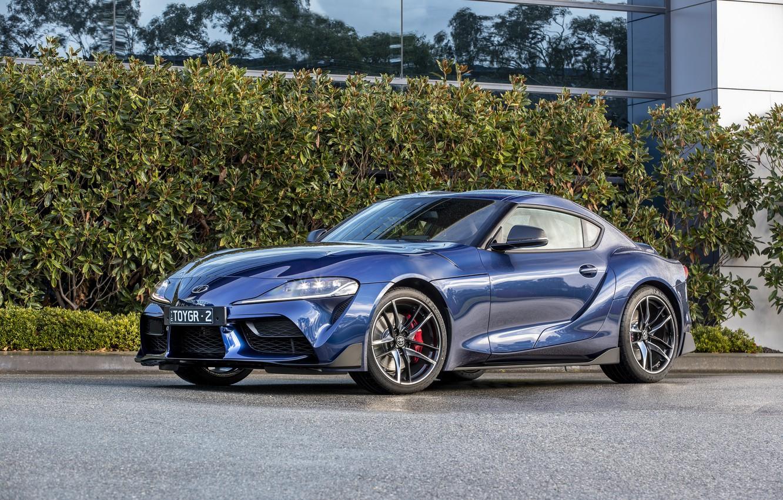 Photo wallpaper auto, photo, Toyota, Supra, GTS, 2019