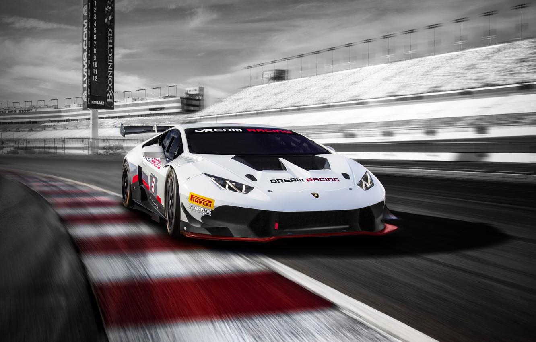 Photo wallpaper Lamborghini, sports car, White, Lamborghini, Huracan, Lamborghini Huracan