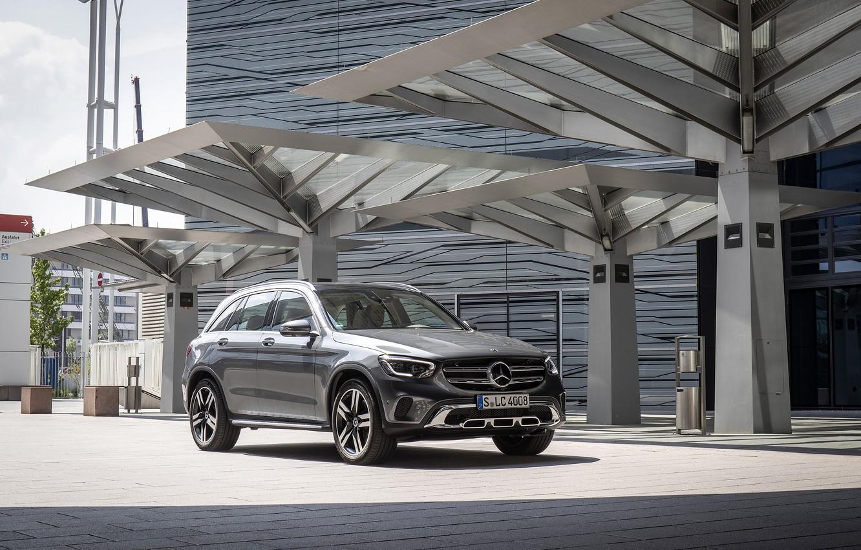 Photo wallpaper photo, Mercedes-Benz, Car, Crossover, 4MATIC, GLC 300, Worldwide, 2019