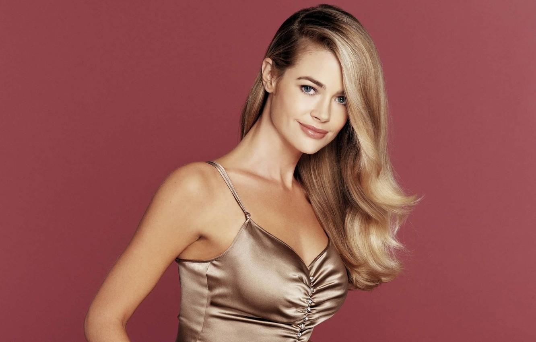 Photo wallpaper Girl, Look, Blonde, Smile, Girl, Hair, Denise Richards, Actress, Smile, Beauty, Blonde, Beautiful, Actress, Hair, …
