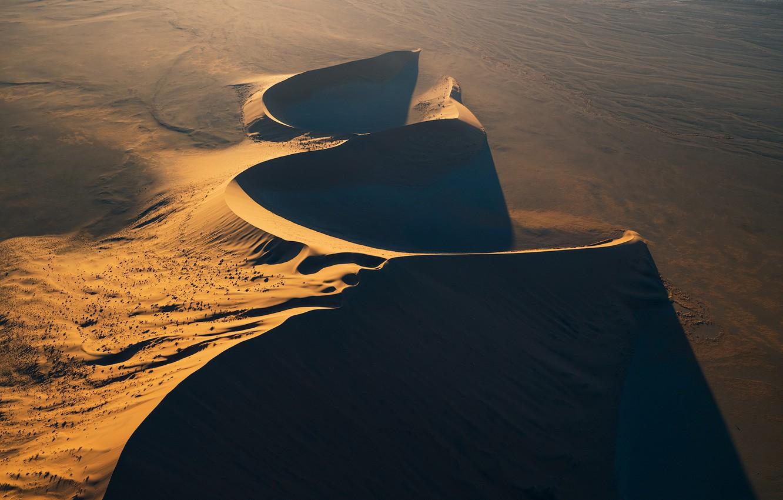 Photo wallpaper sand, desert, desert, Namibia, sand, dune, Namibia, dune, Zhu Xiao