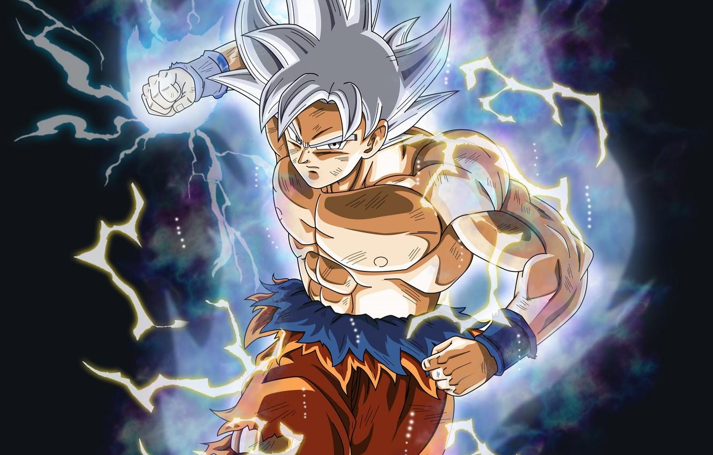 Photo wallpaper background, power, guy, Dragon Ball, Dragonball