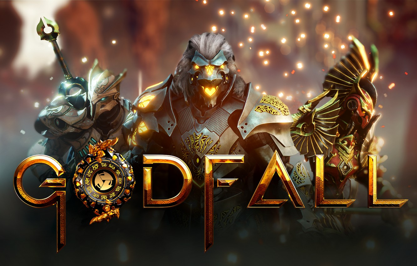 Photo wallpaper the game, creatures, Godfall