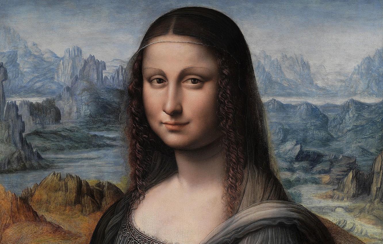 Wallpaper Mona Lisa Madrid Madrid Mona Lisa The Prado