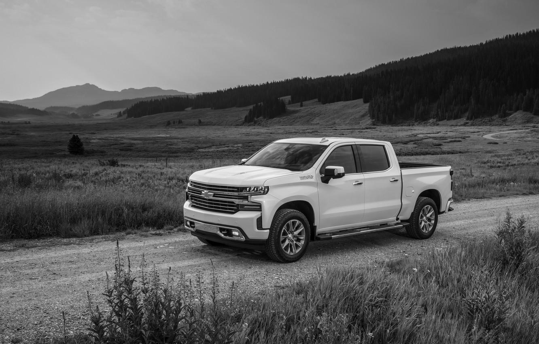 Photo wallpaper Chevrolet, pickup, primer, Silverado, High Country, 2020, 2500 Heavy Duty