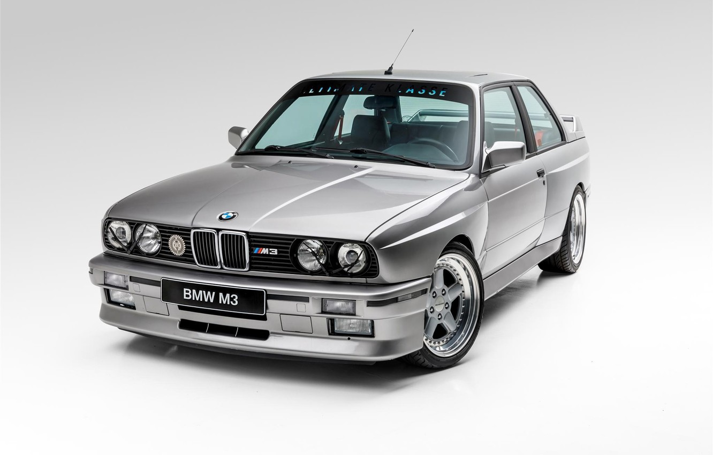 Photo wallpaper BMW, COUPE, EVO, E30, M3