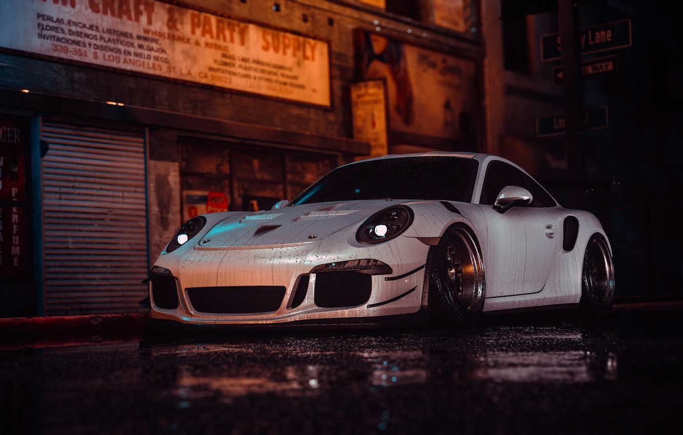 Wallpaper Auto White Porsche Machine Style Car Nfs Art Porsche 911 Style Porsche 911 Gt3 Rs 911 Gt3 Rs Need For Speed 2016 Transport Vehicles Lil Shaply By Lil Shaply Images