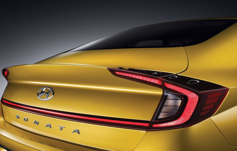 Photo wallpaper Hyundai, Sonata, 2020