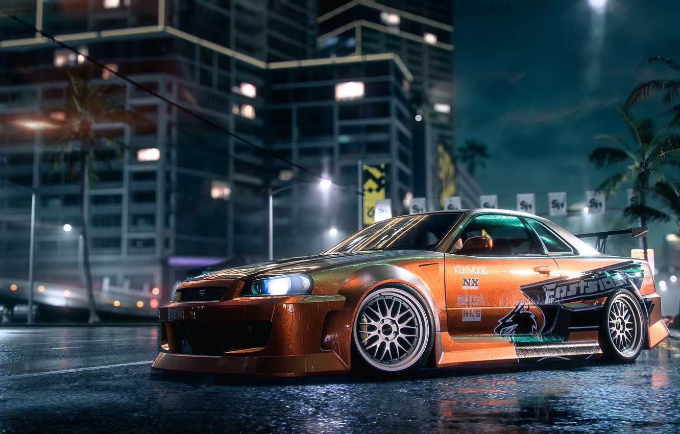 Wallpaper Nissan Nfs Skyline Electronic Arts Need For Speed
