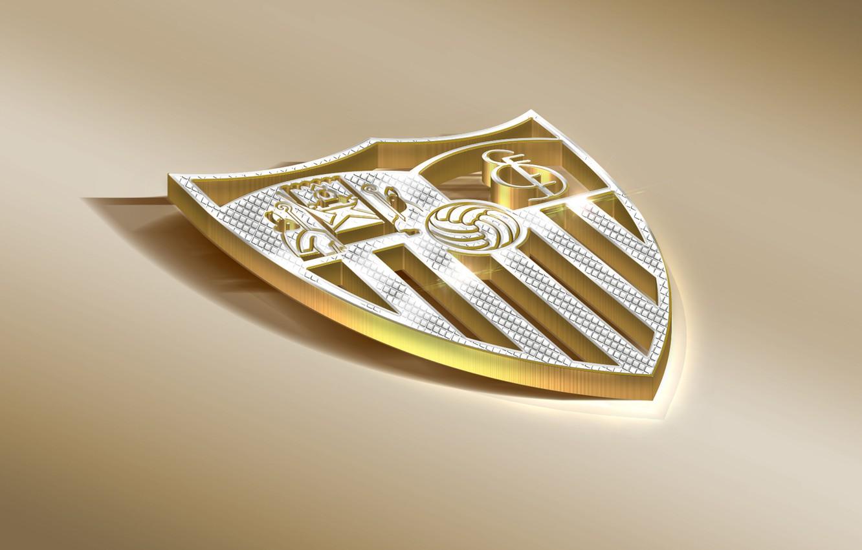 Photo wallpaper Logo, Football, Sport, Soccer, Emblem, Sevilla, Spanish Club, Sevilla FC