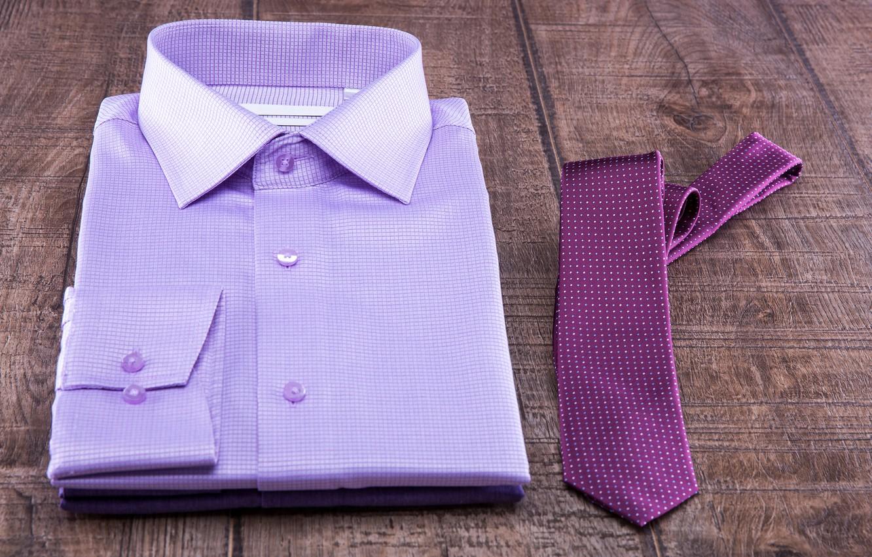Photo wallpaper purple, background, Board, tie, shirt, bokeh