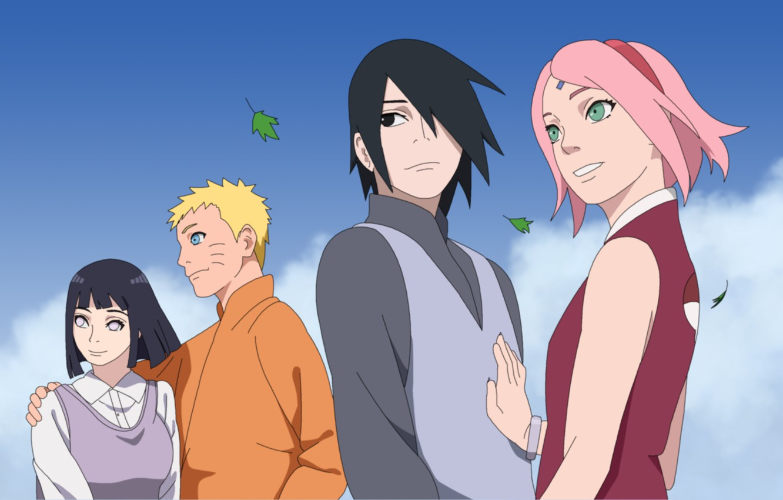 Wallpaper Sasuke Naruto Sakura Hinata Images For Desktop