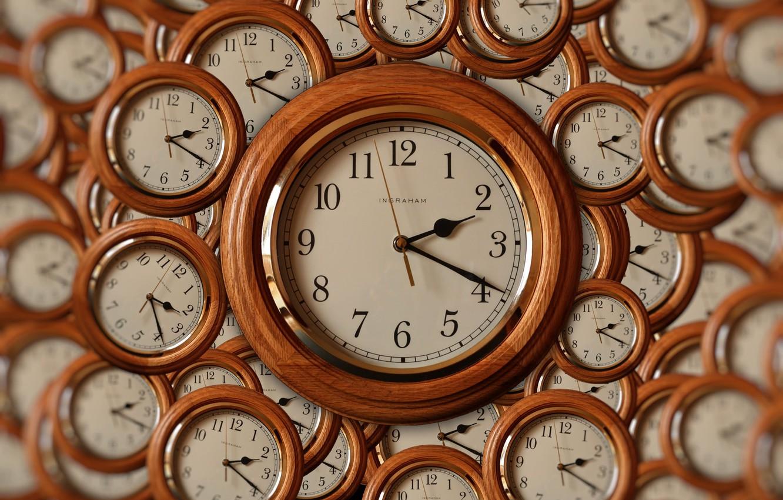 Photo wallpaper time, arrows, watch, dial