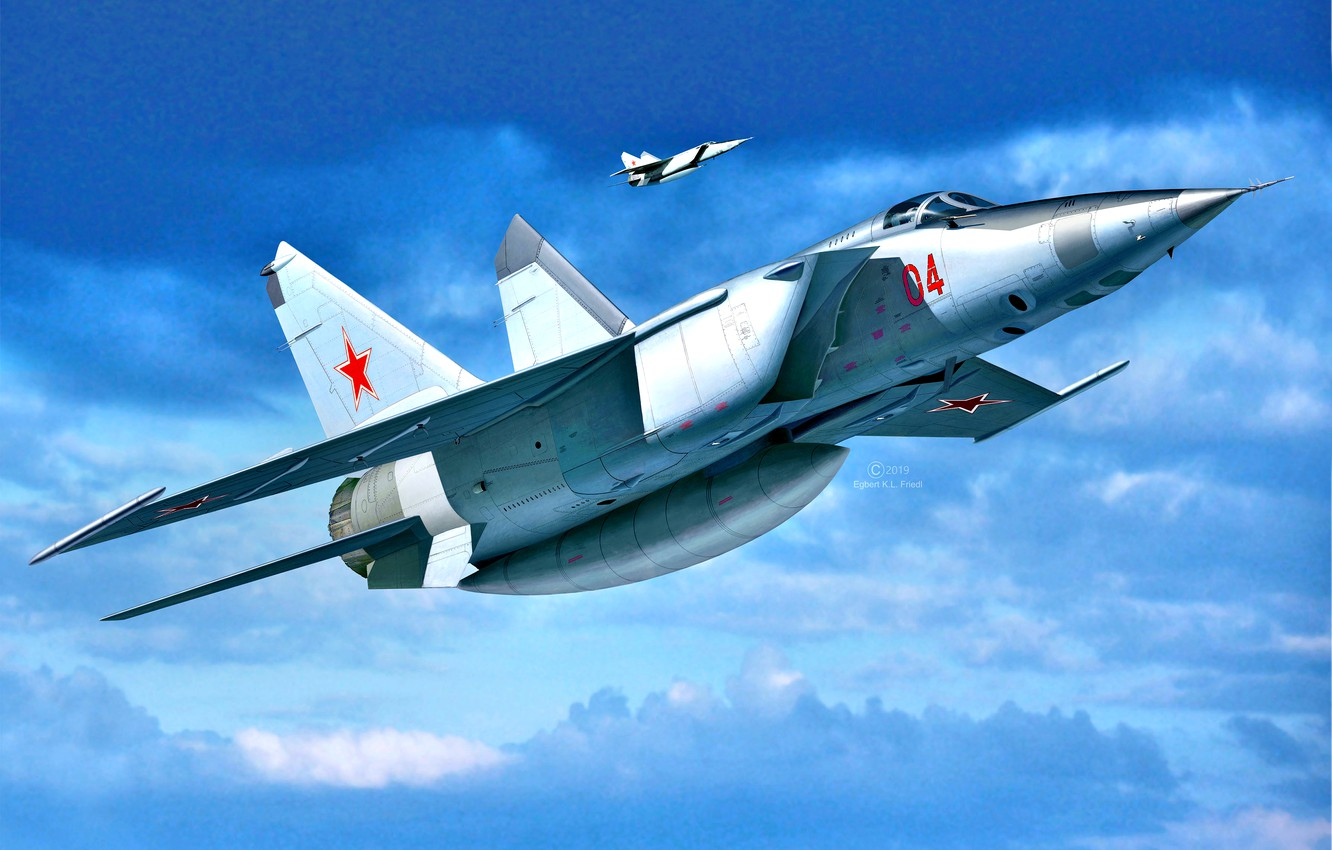 Wallpaper The Soviet Air Force The Mig 25 Supersonic