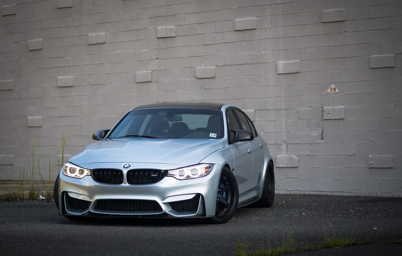 Photo wallpaper BMW, Silver, F80, Sight, Adaptive LED