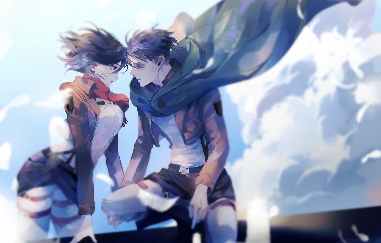Wallpaper Attack Of The Titans Shingeki No Kyojin Mikasa