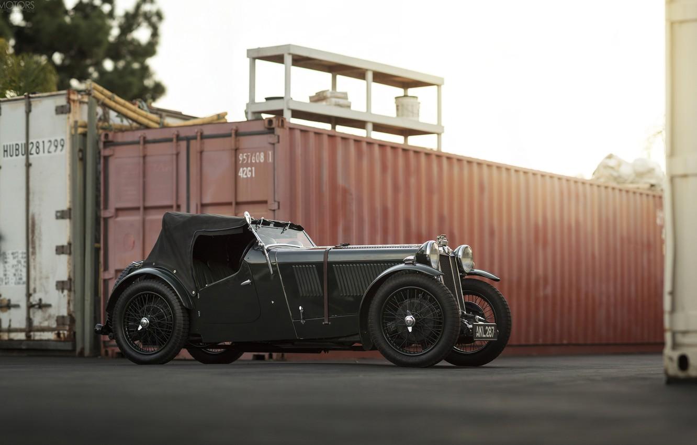 Photo wallpaper Car, Vintage, Retro, MG L-Type