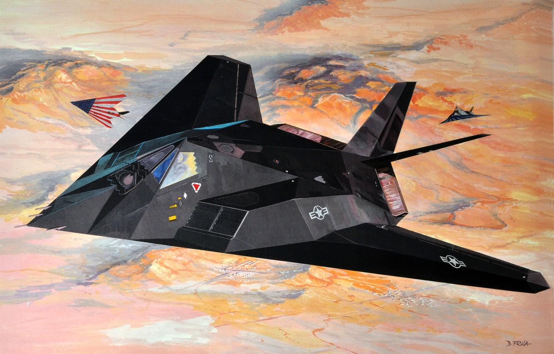 F-117 Nighthawk, stealth attack