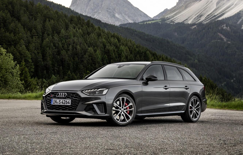 Photo wallpaper Audi, universal, 2019, dark gray, A4 Avant, S4 Before
