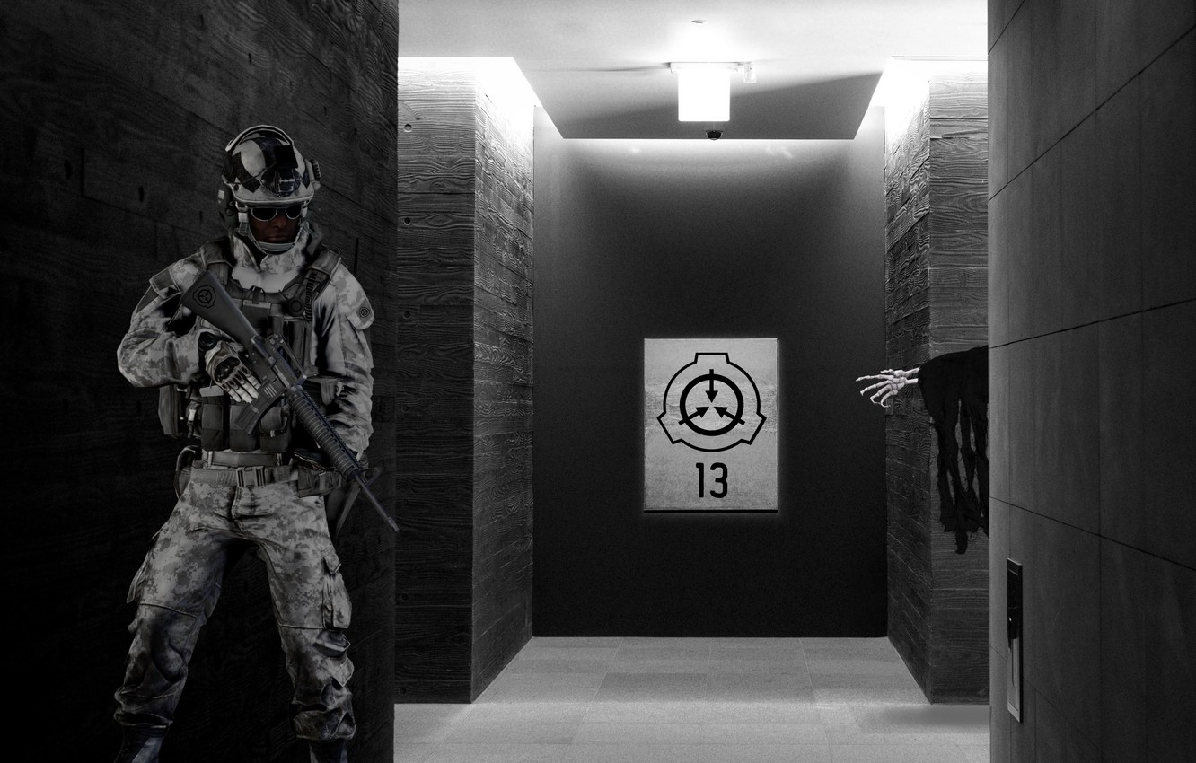 Photo wallpaper soldier, monster, horror, Fund, scp, secure, violation, protect, foundation, contain, by Pyrus-acerba