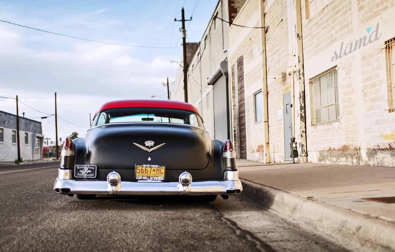 Photo wallpaper Cadillac, Custom, Deville, 1953 Year