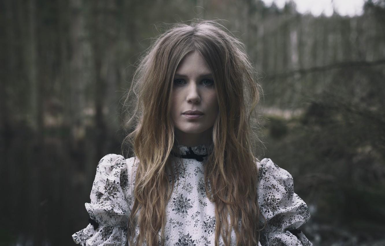 Photo wallpaper black metal, Darkness, nordic folk, Amalie Bruun, black metal, Danish musician and actress, Nordik folk, …