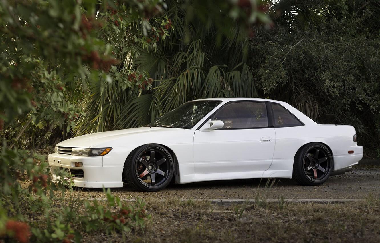 Photo wallpaper Silvia, Nissan, s13