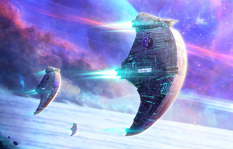Wallpaper Space, Fantasy, Science Fiction, Stars, Sci-fi