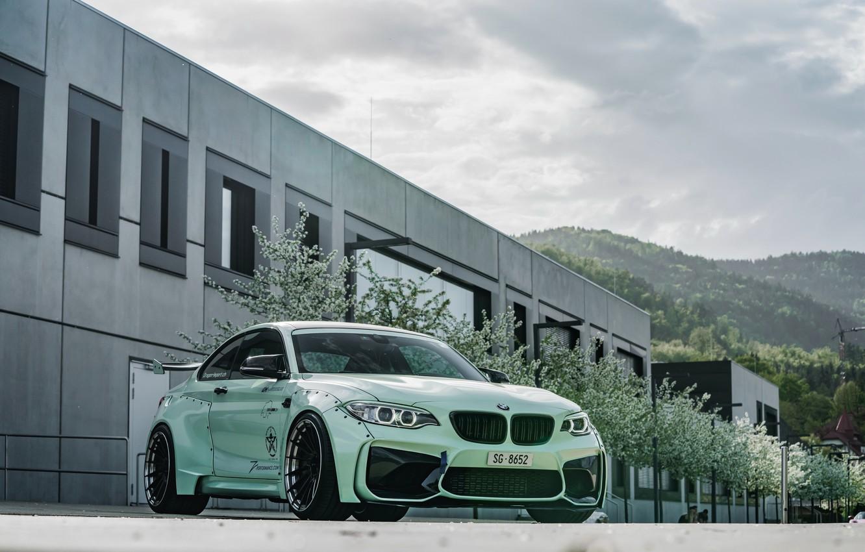 Photo wallpaper tuning, 2018, Z Performance, BMW M2