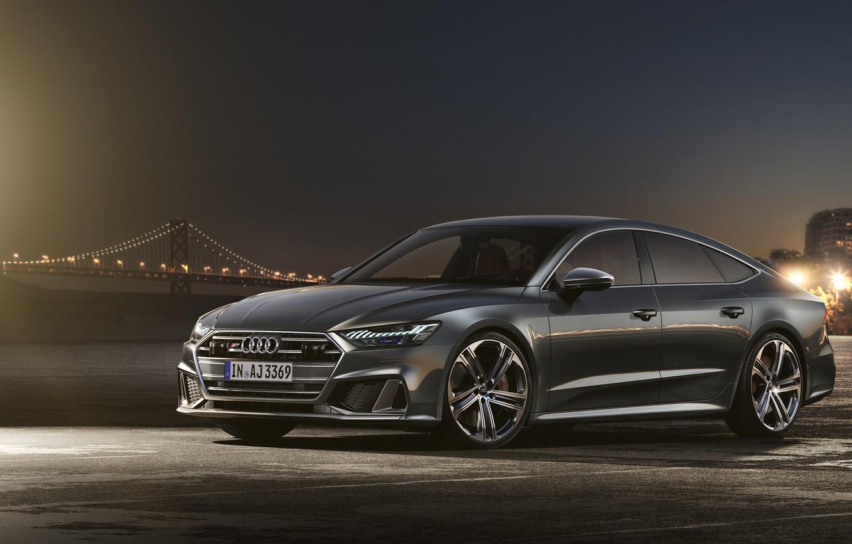 Photo wallpaper Audi, TDI, Sportback, Audi S7, 2019