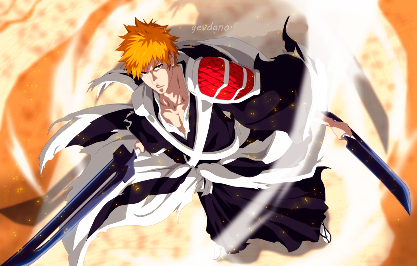 Wallpaper look guy Bleach Bleach Ichigo Kurosaki images for