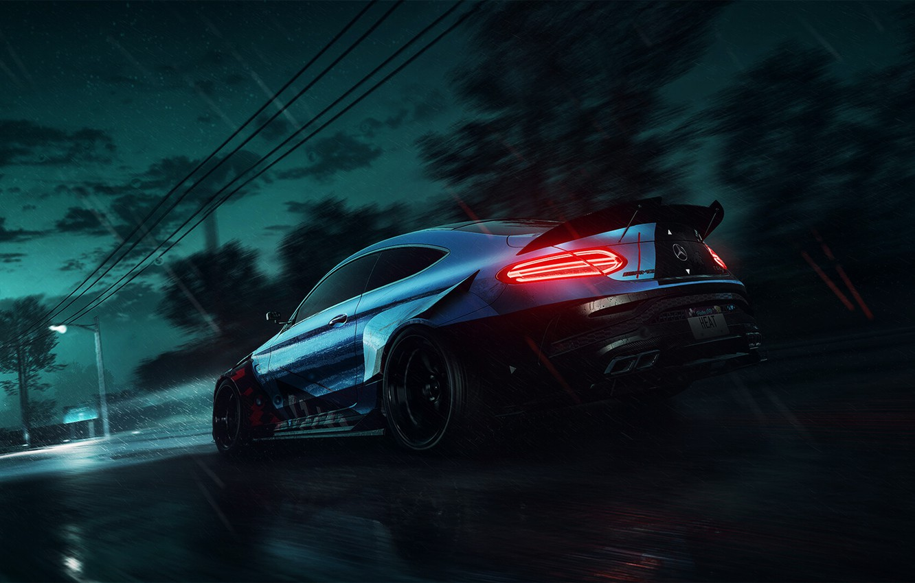 Wallpaper Auto Machine Mercedes Nfs Need For Speed Game Heat