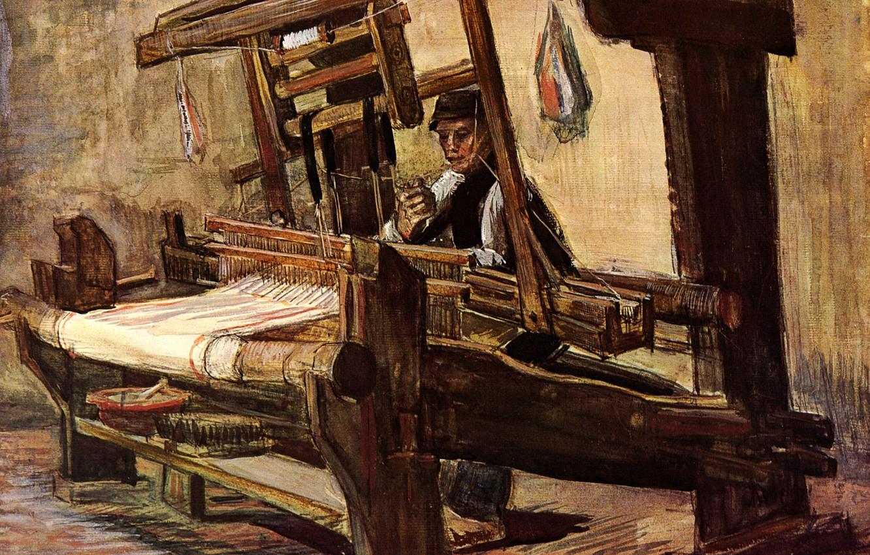 Photo wallpaper Vincent van Gogh, Weaver 2, weaver