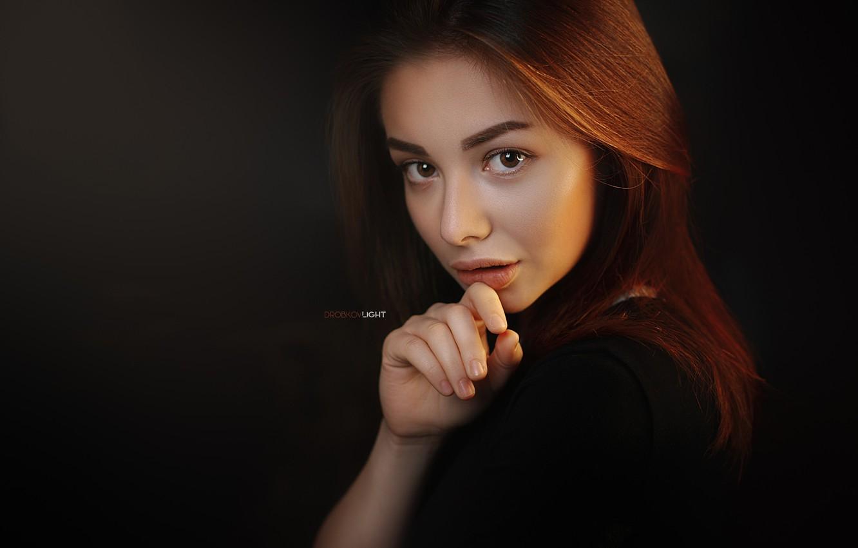Photo wallpaper look, portrait, Girl, Alexander Drobkov-Light, Sue Tikhonova