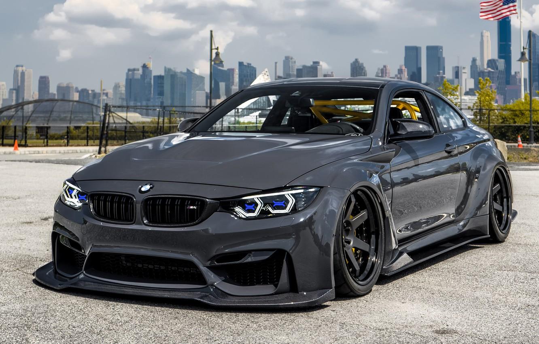 Photo wallpaper BMW, Wide Body, F82, M4