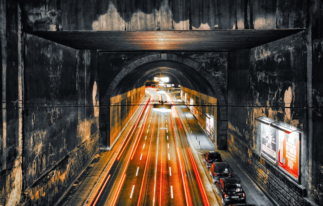 Photo wallpaper Eat, central station, traffic inferno