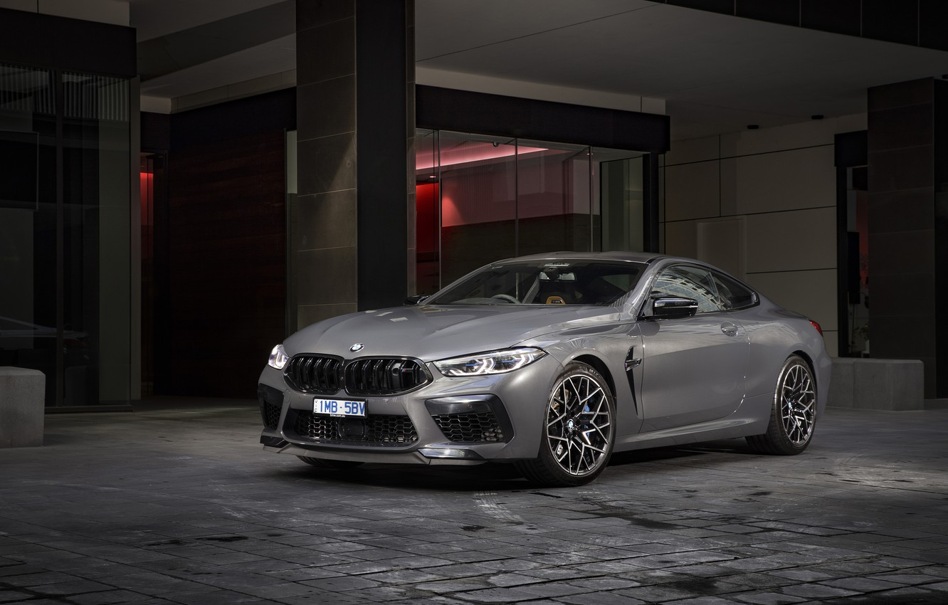 Photo wallpaper coupe, BMW, Competition, 2020, M8