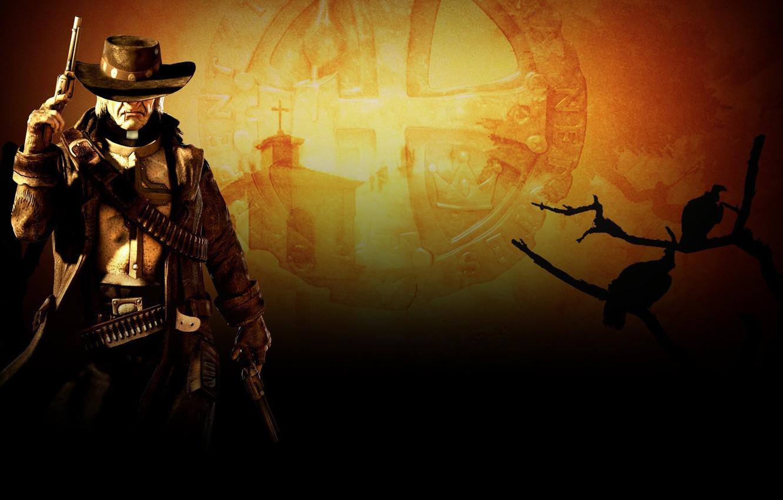 Photo wallpaper Wallpaper, Call Of Juarez, The Gunslinger