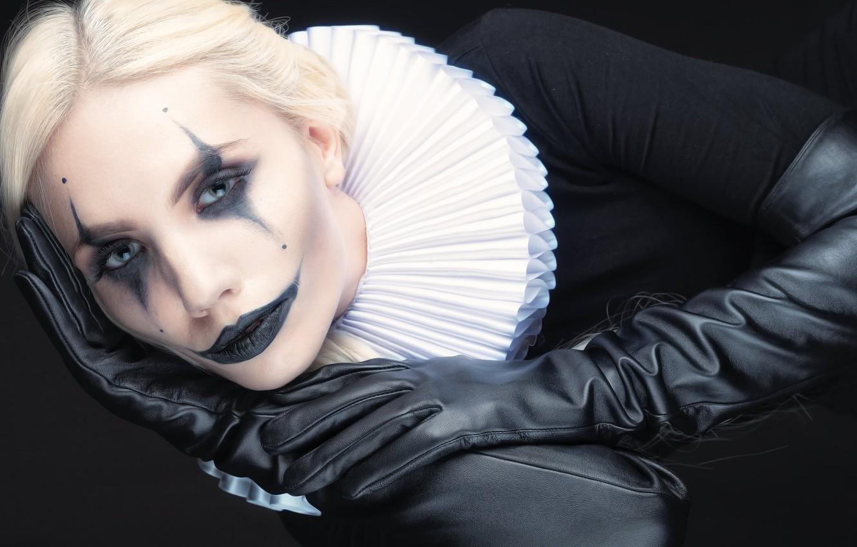 Photo wallpaper girl, style, portrait, makeup