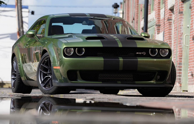 Photo wallpaper Dodge Challenger, Hellcat, SRT, Redeye Widebody, Dodge Challenger SRT Hellcat Redeye Widebody