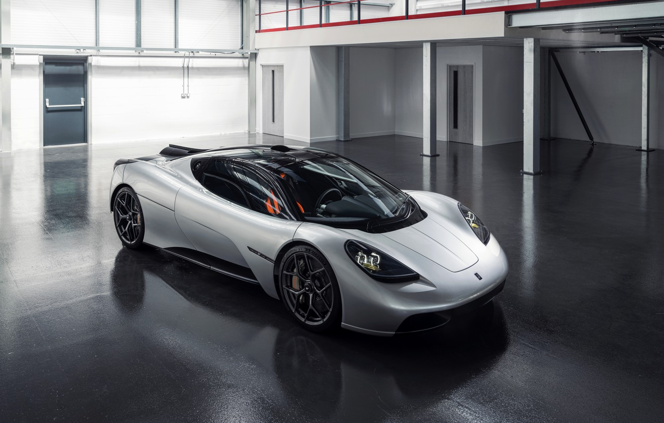 Photo wallpaper coupe, V12, in the room, GMA, T.50, Gordon Murray Automotive, Type 50