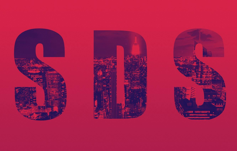 Photo wallpaper red, the city, new York, new york, new york city, Burgundy, sds