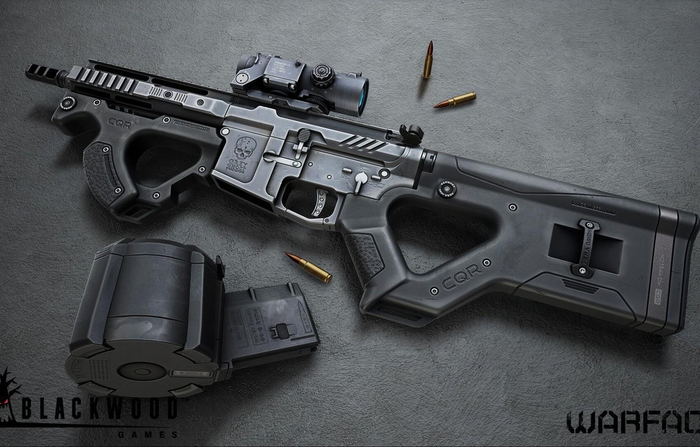 Photo wallpaper rendering, weapons, gun, weapon, render, custom, Warface, assault rifle, assault Rifle, ar 15, ar 15, …
